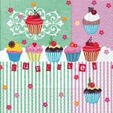 8 Törtchen - Cupcakes - Petits gâteaux