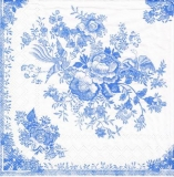 Blaue Blumen & Fasan - Blue flowers & Pheasant - Fleurs bleues & faisan