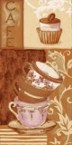 Tassen & kleines Törtchen - Cafe - Cups & cupcake - Coupes & petit gâteau