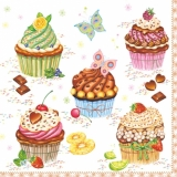 9 Törtchen - Cupcakes - Muffins - Petits gâteaux