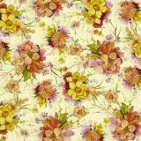 Kleine, bunte Blumensträußchen - Small, colorful bouquets -  Petit bouquets colorés