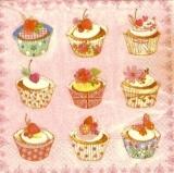 9 leckere, kleine Törtchen - 9 delicious little cupcakes/ muffins - 9 délicieux petits gâteaux peu