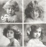 4 Nostalgische Mädchen - Nostalgic girls - Fille nostalgique