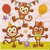 3 lustige Affen - 3 funny monkeys - 3 singes drôles