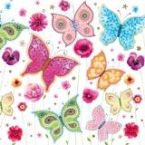 Bunte Schmetterlinge - Colourful Butterflies - Papillons multicolores