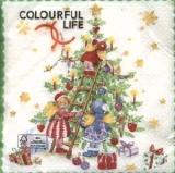 Engel schmücken den Weihnachtsbaum - Angels decorating the X-mas tree - Les anges ornent les fêtes de Noël