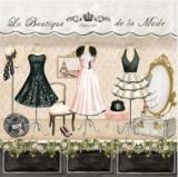 Geschäft, Kleider Hüte, Schuhe - Shop, clothes hats, shoes -La Boutique de la Mode, Depuis 1928