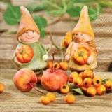 2 Herbstwichtel, Kürbisse & Beeren - 2 Autumn Imp, pumpkins and berries - 2 Automne Imp, les citrouilles et les baies