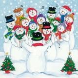 Der Schneemannchor - The Snowmen chorus - Le Chœur de bonhomme de neige