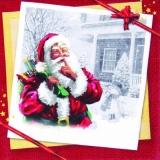 Psst...Der Weihnachtsmann ist da - Santa Claus is here - Père Noël est là