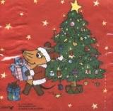 Die Maus am Weihnachtsbaum - Mouse at Christmas tree - Souris & arbre de Noël
