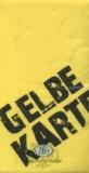 Gelbe Karte - Yellow Card - carton jaune
