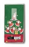 Viele Weihnachtsmänner - many Santas