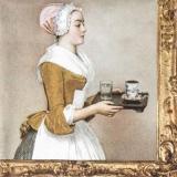 Das Wiener Schokoladenmädchen - The Chocolate Girl  -  Jean-Étienne Liotard, La Belle Chocolatière de Vienne