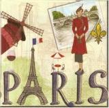 Nostalgische Frau in Paris - Nostalgic Woman in Paris - Femme nostalgique à Paris