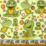 Lustige Frösche - Happy frogs - grenouilles heureux