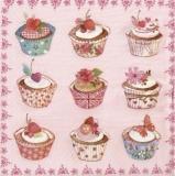9 kleine Kuchen - Cupcakes - Muffins - petits gâteaux