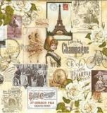 Nostalgische Pariser Bilder - Nostalgic Parisian pictures - Nostalgique photos de Paris