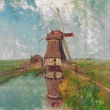 Die Windmühle - Holland - Netherlands- Windmill - Le moulin à vent - Pays-Bas