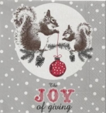 Eichhörnchen, Baumkugel - Squirrels, Bauble - Écureuils, Babiole - The joy of giving