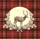 Hirsch & Muster - Deer & Pattern - Cerfs et modèle