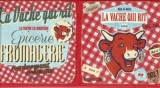 Die lachende Kuh, Käse - The Laughing Cow, Cheese - La vache qui rit, Fromagerie