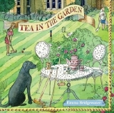 Cricket, Hund, Tee im Garten, klein - Tea in the garden, dog - chien, thé dans le jardin