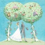 Eule, Papagei, Vögel & mehr beim Hochzeitspaar - Owl, parrot, birds & more at the wedding couple - Hibou, perroquet, oiseaux et plus le couple de mariage