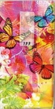 Farbenfrohe Schmetterlinge - Brightly colored butterflies - Papillons aux couleurs vives