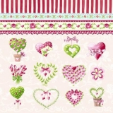Herzen & Rosen - Hearts & Roses - Cœurs & roses