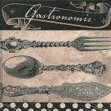 Altes Tafelsilber, Besteck, Gastronomie - Old silverware, cutlery - Argenterie ancienne, couverts