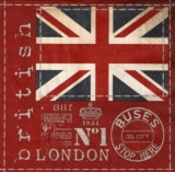 Britische Flagge, London - British Flag - Drapeau britannique - Union Jack