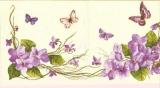 Schmetterlinge im Veilchenbeet - Butterflies & violets - Papillons dans violettes