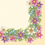 Blumen-Rahmen - Flower Frame - Cadre de fleurs