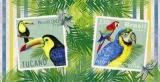 Brasilien - Tucon - Ara, Papagei, Briefmarken - Brazil - Tucon - Macaw, Parrot, Stamps - Brésil - Tucon - ara, perroquet, Timbres