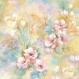 Wunderschön gemalte Blumensträuße - Beautifully painted bouquets - Bouquets magnifiquement peints