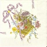 Blumenkorb  mit Schleife - Flower basket with bow - Panier de fleur avec larc - The Metropolitan Museum of Art