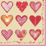 33 Herzen der Liebe - Hearts of Love - Coeurs dAmour
