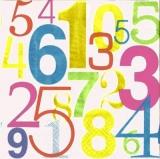 Bunte Zahlen - Colorful numbers - Nombre de couleurs