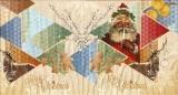 Nostalgischer Weihnachtsmann, Gebäck, Reh, Rudi & Boss - Nostalgic Santa Claus, cookies, deer - Nostalgique du Père Noël, les biscuits, cerf