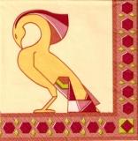 Altes Greifvogel-Wappen, Statue - Old bird of prey of Arms - Vieil oiseau de proie de bras