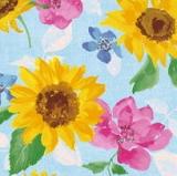 Sonnenblumen und mehr - Sunflower painting - peinture de tournesol