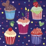 10 leckere Törtchen - 10 delicious cupcakes - 10 petits gâteaux délicieux