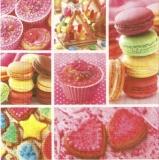 Collage von bunten Leckereien - Collage of colorful goodies - Collage de sucreries coloré