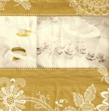 Eheringe & Hochzeitstorte - Wedding Rings & wedding cake, romantic moments - Les anneaux de fiançailles & gâteau de mariage