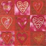 9 wunderschöne Herzen - 9 beautiful hearts - 9 beaux coeurs
