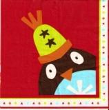 1 Pinguin & 6 bunte Weihnachtsbäume - 1 Penguin & 6 colorful Christmas trees - 1 Pingouin et 6 arbres de Noël coloré
