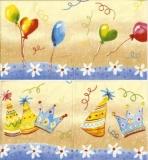 Partyhüte & Luftballons - Party hats & balloons - Chapeaux & ballons de fête