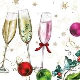 Sekt, Champagner, Weihnacht, Neujahr - Sparkling wine, Champagne, Christmas, New Year - Vin mousseux, Champagne, Noël, Nouvel An