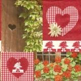 Blumen & Herzen Landhausstil - Flowers & Hearts country style - Fleurs & coeurs style campagnard